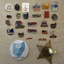 Ohio pin lot Operation Lifesaver  Verdin  WSU  CSU greene ville peace treaties