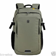 "Khaki 16"" / 17"" Inches Laptop Backpack Fashion Business Office School Travel Bag"