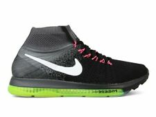 NIKE ZOOM ALL OUT FLYKNIT BLACK NEON Women's Athletic Shoes Size 7 845361-002