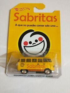 Custom hot wheels HW sabritas delivery VW bus 1:64