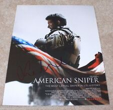 ACTRESS SIENNA MILLER SIGNED AMERICAN SNIPER 11X14 PHOTO W/COA CLINT EASTWOOD
