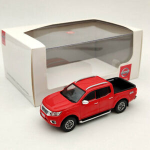 Nissan Navara 4x4 Pickup Truck Red 1:43 Diecast Models Limited Collection