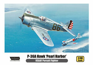 Wolfpack 1/48 Curtiss P-36 A Hawk 'Pearl Harbor' Pursuit Fighter WP14811