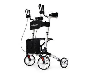 OasisSpace Lightweight Armret Walker- Rollator Walker with Forearm Support