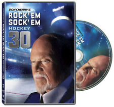 Don Cherry ROCK'EM SOCK'EM 30 (2018) Official NHL Hockey DVD Home Video Disc