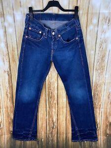 Levis 907 Jeans/ 5-pocket-style Gr.W31 L34 blau