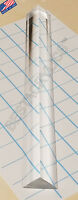 "1 Pc 3/4"" x 3/4"" x 1"" CLEAR ACRYLIC TRIANGLE ROD 36"" INCH LONG PLEXIGLASS LUCITE"