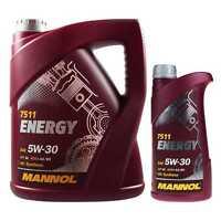 6 Liter Original MANNOL Motoröl Energy 5W-30 API SL Engine Oil Öl