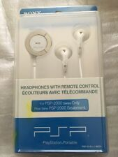 Sony PSP98551 White In-Ear Only Headsets (ORIGINAL SONY PRODUCT)