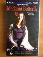 THE AUSTRALIAN OPERA ~ MADAMA BUTTERFLY ~ CHERYL BARKER ~ RARE VHS VIDEO