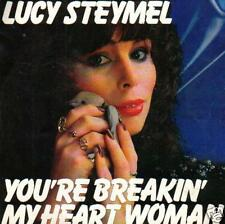 JUKEBOX 45 single LUCY STEYMEL YOU'RE BREAKING MY HEART