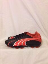Women's Puma Attencio II iFG Soccer Cleats Size 8 1/2 Black & Red