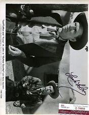 LASH LARUE OUTLAW COUNTRY 1952 SIGNED JSA CERTED 8X10 PHOTO AUTHENTIC AUTOGRAPH