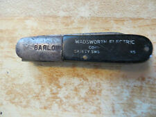 BARLOW POCKET ADVERTISING KNIFE,2 BLADED,ELEC CONTRACTOR SUPPLY,KUTMASTER