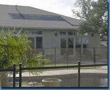 4- 4x20' Inground Pool Solar Panels W/Roof Kits 10yr (8 panels x 2' wide x 20')