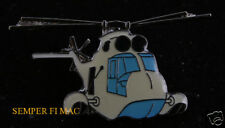 TWO SH-3 SEA KING HAT LAPEL PIN UP HELICOPTER US NAVY VETERAN USS PILOT CREW WOW
