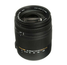 SIGMA 18-250mm F/3.5-6.3 DC MACRO OS Zoom Lens for CANON + 4 YEAR USA WARRANTY