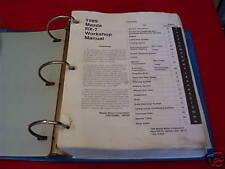 1989 Mazda RX-7 RX7 Workshop Service Repair Binder Book