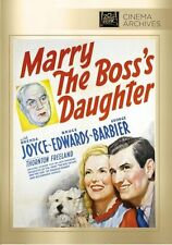 Marry The Boss's Daughter DVD (1941) Brenda Joyce, Bruce Edwards, George Barbier