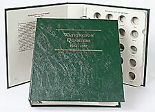 Littleton LCA4 Washington Quarter 1932-1967 Album Volume#1 ARCHIVAL QUALITY