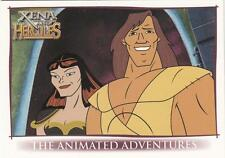 2005 Xena and Hercules the Animated Adventures trading cards promo P1