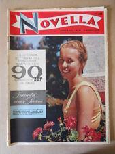 NOVELLA n°20 1958 Incontri con i Savoia Festival di Cannes  [G717B]
