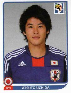 Panini Sticker Fußball WM 2010 Nr. 378 Atsuto Uchida Japan Bild NEUWARE Worldcup