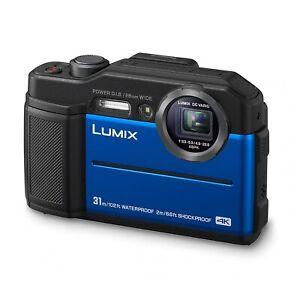 Panasonic DC-FT7EB-A 4K Waterproof Tough Digital Action Cam Camera 20.4MP - Blue