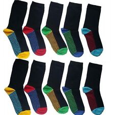 10 Pairs kids socks BOYS/KIDS/CHILDREN'S COTTON RICH SCHOOL  COLOUR HEAL PTYGH