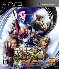 Used PS3 Super Street Fighter IV SONY PLAYSTATION 3 JAPAN JAPANESE IMPORT