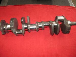 350 CHEVROLET FORGED STEEL GM CRANKSHAFT STD/STD