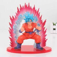 Dragon Ball Z Blue Super Saiyan God Son Goku Kaioken SSGSS Action Figure 20cm