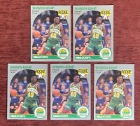 Lot of (5) 1990-91 NBA Hoops SHAWN KEMP Rookie Card #279 RC Seattle Supersonic🔥