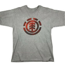 Element Skateboarding T Shirt Mens Size Medium Grey Short Sleeve