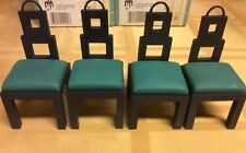 Doll House Furniture Dining Room Chairs Miniatures 24pc 1 Case Raine #24021 1:12