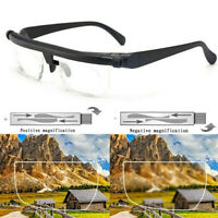 Adjustable Glasses Variable Focus for Reading Distance Vision Eyeglasses