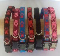 Handmade Quick Release ID Band / House Tag Collar - Lurcher, Greyhound, Saluki