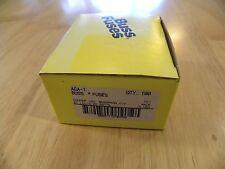 Cooper Bussmann AGA-1 New Old Storage Fuse Box 62 Pieces