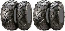 Four 4 ITP 900XCT ATV Tires Set 2 Front 27x9-12 & 2 Rear 27x11-12