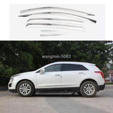 SPEEDLONG Car Window Visor Vent Shade Deflector Sun//Rain//Fog Guards Compatible with Cadillac XT5 2017 2018 2019 2020 2021