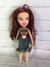 2001 MGA Bratz Campfire Meygan Doll Auburn Red Hair Blue Eyes Missing Feet RARE