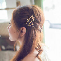 New Women Tree Branch Creative Hairpins Fascinator Bobby Pins Hair Accessories