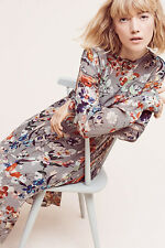 NWT Anthropologie Marcher Midi Floral dress sz 8 Essentiel Antwerp 40 $368