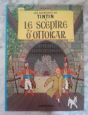 """BD TINTIN: """" Le sceptre d'Ottokar"""" chez Casterman pour Total de 2000"""