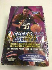 1997/98 Fleer NBA Basketball Series 2 Hobby Box 36 Packs Factory Sealed Hoops