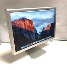 "APPLE 20"" A1081 CINEMA DISPLAY LCD MONITOR GRADE C WITHOUT PSU /USB BROKEN CASE"