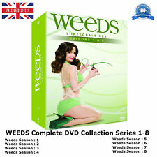 WEEDS Complete Series 1-8 Lee Rose, Brian 22 Dolby DVD Box Set Collection NEW R2
