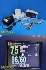 Welch Allyn Protocol Propaq Lt Monitor With Charging Cradle Ecg Nbp Leads 24325