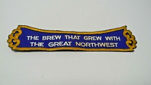 """The Brew That Grew With The Great Northwest Patch 8"""" X 2"""""""
