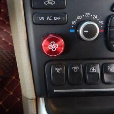 4 colors aluminium fan ventilator knob ring for Volvo XC90 S80 1st generation